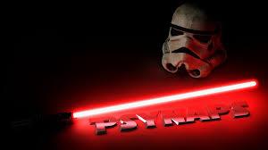 light saber trooper helmet and