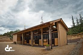 san jose shed row horse barn kit dc structures viral home