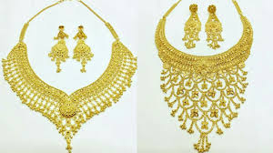 new collection gold necklace images Recent designs of gold necklaces new collection jpg