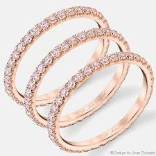 Pink Diamond Wedding Rings by Angelina Pink Jean Dousset Diamonds Wedding Rings