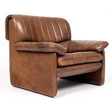 Leather Armchair With Ottoman De Sede Ds 85 Leather Armchair And Ottoman Set Jean Marc Fray