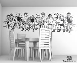 wandtattoos lunch atop a skyscraper wandtatoo new york wall stickers men at lunch