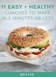 Dans La Cuisine De L Idée Du Week Bookmark These Easy Healthy Lunch Recipes To For The