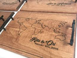 engraved serving tray 23 best serving trays images on
