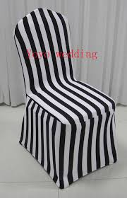black and white chair covers white and black stripe print spandex chair cover in chair cover