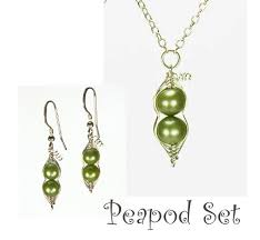 two peas in a pod jewelry pea pod collection