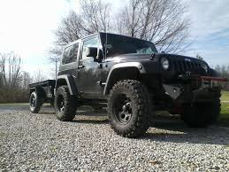 jeep lifted 2 door 33s with budget boost 2 door jk pics please