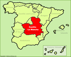 Toledo Spain Map by Castilla La Mancha Maps Spain Maps Of Castilla La Mancha