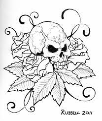 skull coloring book 224 coloring page