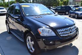 mercedes m class lease 2007 used mercedes m class ml350 4matic 4dr 3 5l at