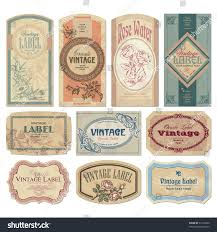 set 10 ornate vintage labels vector stock vector 57518290 set of 10 ornate vintage labels vector illustration old fashioned backgrounds with typography