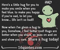 What Can I Do To Make You Happy Meme - here s a little hug for you to make you happy if you re sad