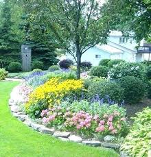 River Rock Garden Bed Landscaping With Rock Borders Learn More River Rock Garden Borders
