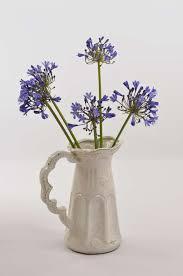 White Ceramic Jug Vase Château Madeleine Jug Vase Zaliwana Accessories
