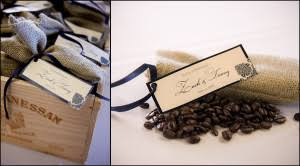 coffee wedding favors creative costa rica wedding favor ideas personalized gifts