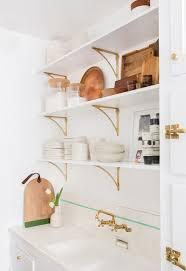 Kitchen Cabinet Shelf Hardware Best 25 Brass Shelf Brackets Ideas On Pinterest Make Kitchen