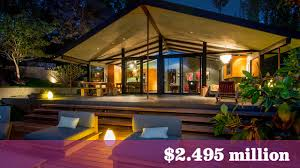 john legend and chrissy teigen u0027s former hollywood hills home lists