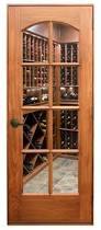 glass wood doors wine cellar doors quality usa made wine cellar experts