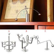 Swinging Desk Balls Newtons Cradle Desk Accessories Ebay
