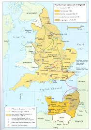 Map Of Wales And England by William The Conqueror And The Norman Legacy Weapons And Warfare