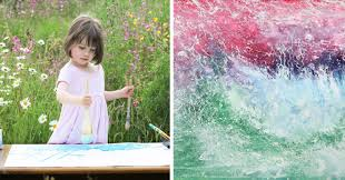10 Year Old Blind Autistic Boy 5 Year Old With Autism Creates Stunning Paintings