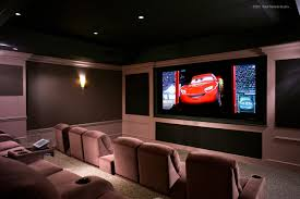 Home Theater Room Decorating Ideas Charming Home Theater Room Design H43 For Your Decorating Home