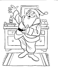 101 best coloring santa images on pinterest drawings coloring