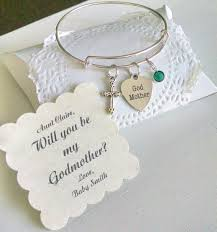 Godmother Gifts To Baby Godmother Bracelet Godmother Gift Will You Be My Godmother
