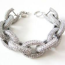 crystal chain link bracelet images 16 best j crew jewelry images bracelets charm jpg