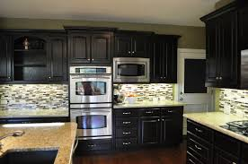 How To Stain Kitchen Cabinets by Gel Staining Kitchen Cabinets