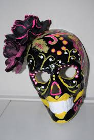 day of the dead masks día de los muertos day of the dead mask a mask decorating on