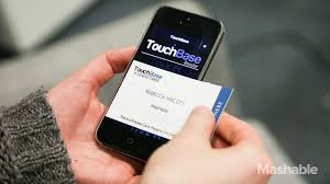 high tech business cards digitize contact info with a tap