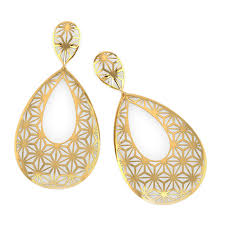 gold ear ring image cutout drop earrings jewellery india online caratlane