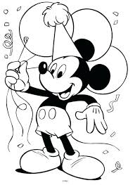 coloring mickey mouse free printable minnie sheets pages baby