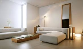 Minimal Table Design Decorating Minimalist Living Room Designs With Sectional Sofa