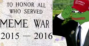 Meme War - veterans of the great meme war now eligible to join their local rsl