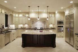 granite countertop white cabinets dark floors dessert microwave