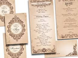 Wedding Program Templates Free Online 115 Best Featured Wedding Invitations And Stationery Images On