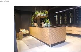 cuisine design toulouse cuisine en bois veritable black line sans poignée avec ilot