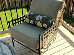 Outdoor Patio Furniture Cushions Replacement by Chaise Lounge Chaise Lounge Replacement Cushions Sunbrella