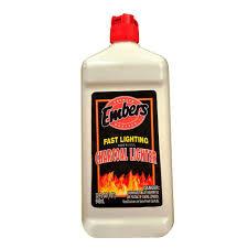 embers 32 oz fast lighting odorless charcoal lighter 200355065