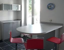 plan table de cuisine table de cuisine en stratifiac table ronde de cuisine table