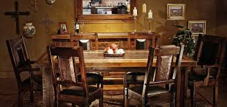 Western Dining Room Tables Whf Is The Best Rustic Reclaimed And Custom Southwest Furniture