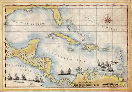 Carribbean Map Cartography By Forge22 On Guru