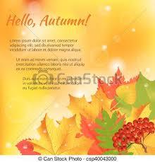 congratulation banner autumn congratulation banner autumn orange green vector