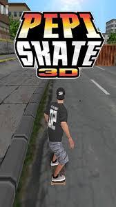 skate board apk pepi skate 3d for android free pepi skate 3d apk