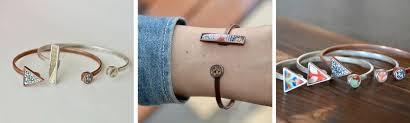 fine silver plated bracelet images Misa cuff bracelet nozomi project jpg