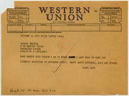 happy birthday telegrams the danny kaye and sylvia collection correspondence