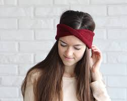 knit headband set of 3 knit headband ear warmer knitted turban headband