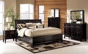 Bedroom Wall Color Ideas With Brown Furniture Magnussen B2375 River Ridge Wood Island Bed W Storage Bedroom